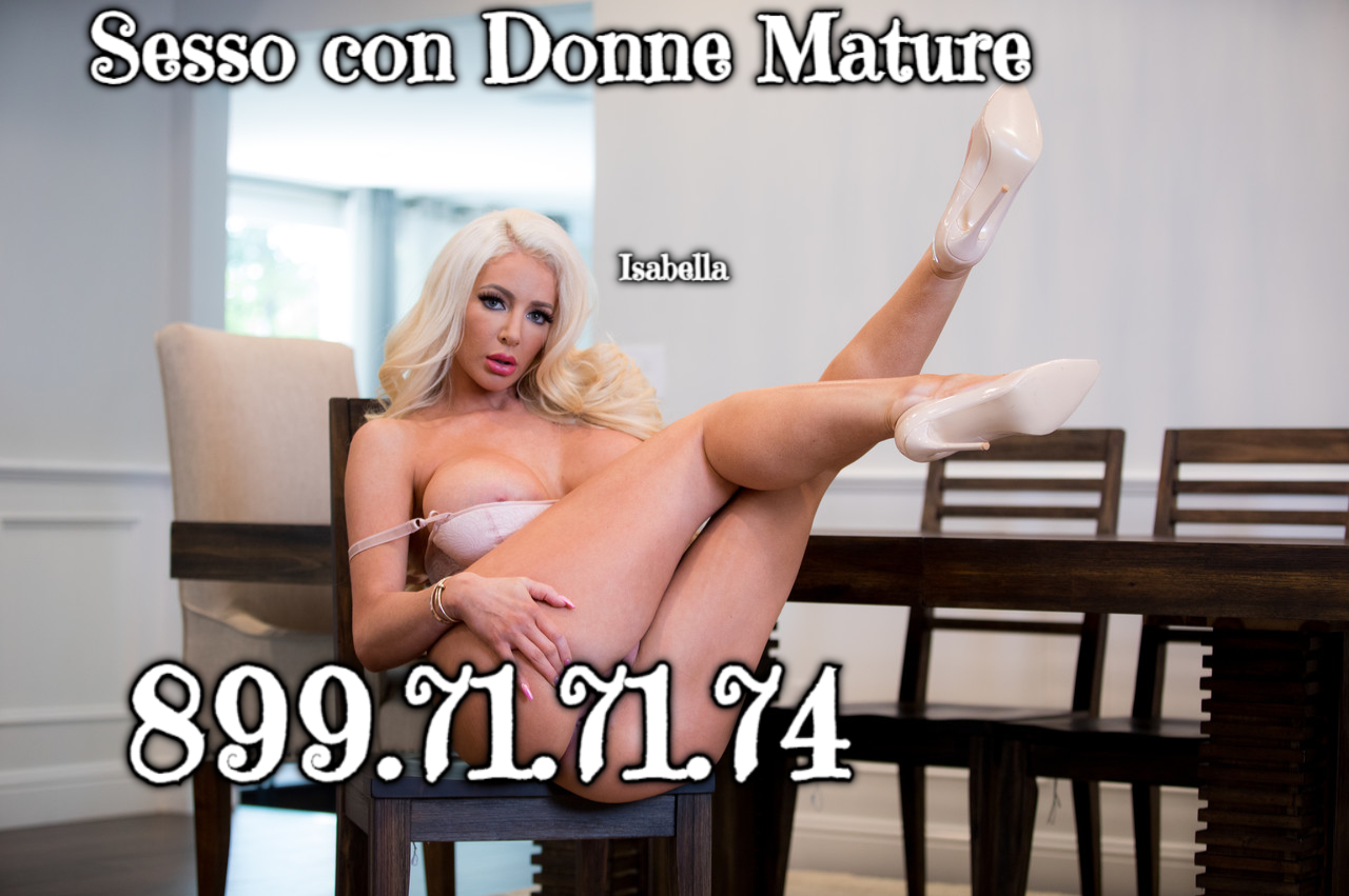 linea erotica donne mature basso costo
